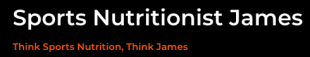 Sports Nutritionist James